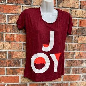 """J. Crew """"joy"""" tee shirt"""